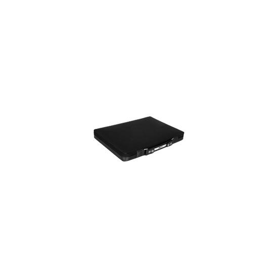 Moshi Codex 13 - Notebook carrying case - metallic black