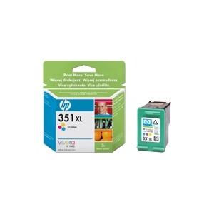 Photo of HP 351XL - Print Cartridge - 1 X Colour (Cyan, Magenta, Yellow) Ink Cartridge