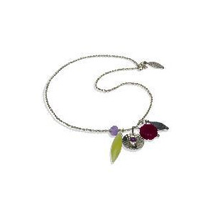 Photo of Monica Vinader Sterling Silver Charm Necklace Jewellery Woman