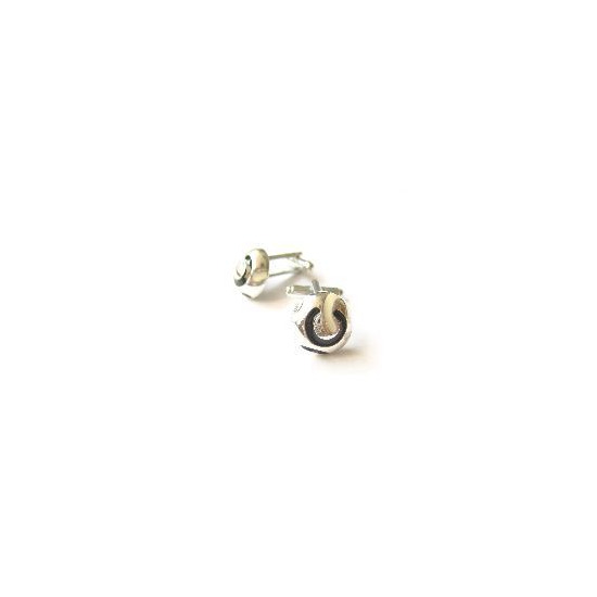 Babette Wasserman Retro Dome Cufflinks