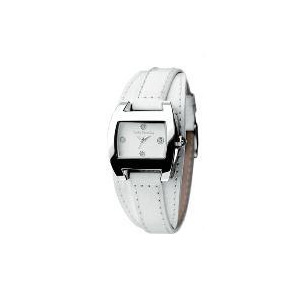 Photo of Betty Barclay White Leather Watch Watches Woman
