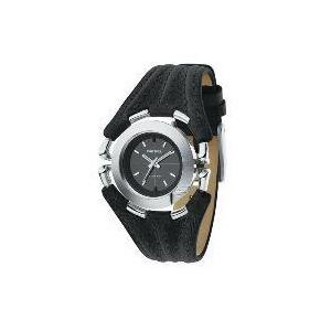 Photo of Diesel Black Leather Watch Watches Man
