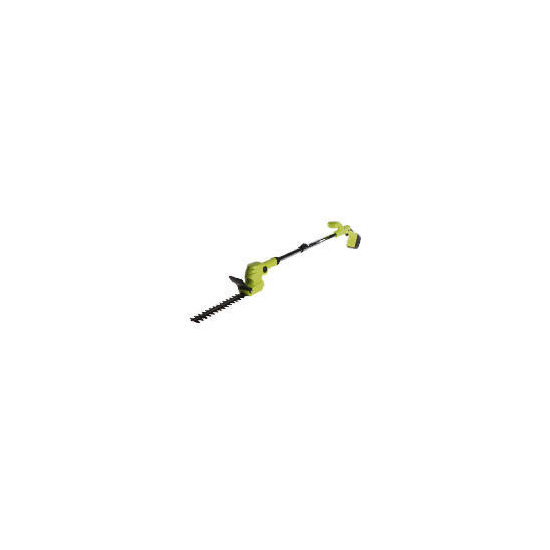 Handy long reach Lithium Ion cordless hedge trimmer