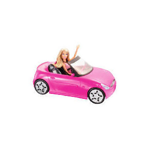 Photo of Barbie Doll and Glam Convertible Toy