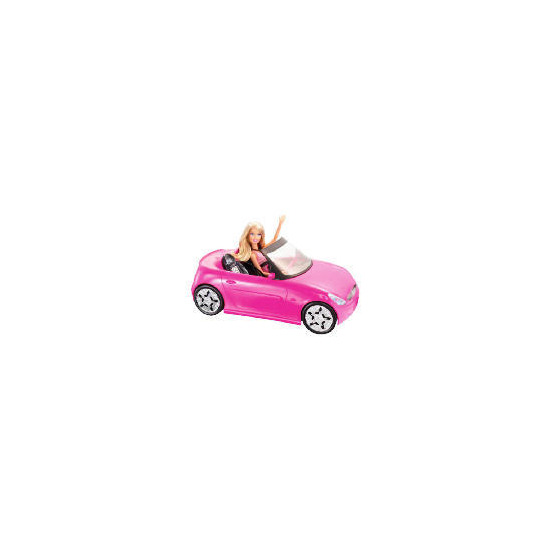Barbie Doll and Glam Convertible