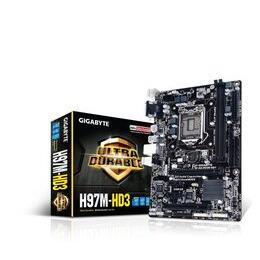 GIGABYTE MOTHERBOARD H97 CHIPSET ON BOARD CPU GA-H97M-HD3 Reviews