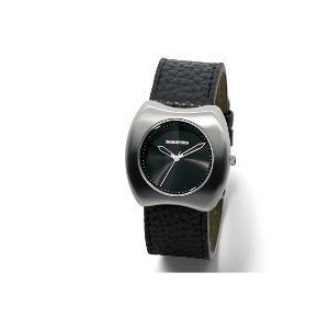 Photo of Lambretta Black Leather Watch Watches Woman