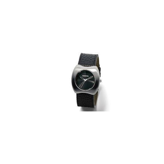 Lambretta Black Leather Watch