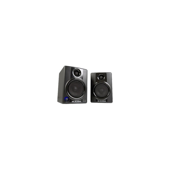 M-Audio Studiophile AV 40 - Left / right channel speakers - 40 Watt (Total) - 2-way