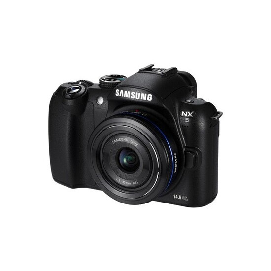 Samsung NX5 with 18-55mm lens