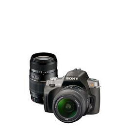 Sony Alpha DSLR-A300 with 18-55mm and Tamron 70-300mm lens Reviews