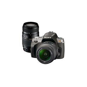 Photo of Sony Alpha DSLR-A300 With 18-55MM and Tamron 70-300MM Lens Digital Camera