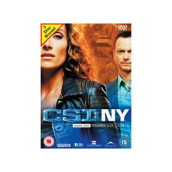 CSI: NY - Season 3 Part 2 (2007) DVD Video