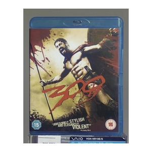 Photo of 300 (2007) Blu-Ray Disc DVDs HD DVDs and Blu Ray Disc