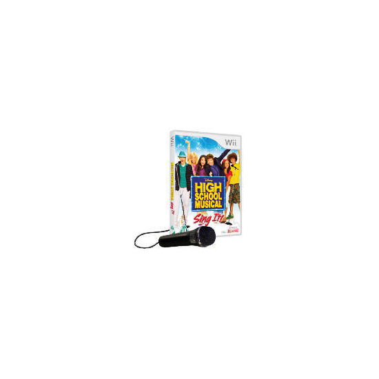 High School Musical - Sing It! (With Microphone) Nintendo Wii