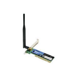 Photo of Linksys Wireless-g PCI Adapter With RangeBooster Wireless Card
