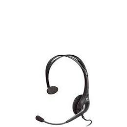 Logitech Headset Dialog-811 Mono Black W/ Microphone Reviews