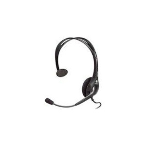 Photo of Logitech Headset Dialog-811 Mono Black W/ Microphone Computer Headset