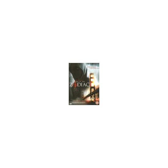 Zodiac (2007) DVD