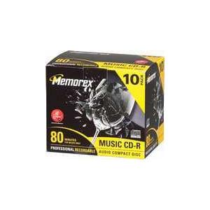 Photo of MEMOREX CD-R 40X700 CD and DVD Storage