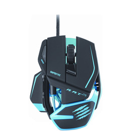 MAD CATZ R.A.T. TE Laser Gaming Mouse - Black & Blue Reviews