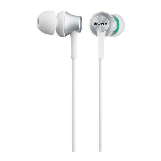 Sony MDR-EX450W.AE Headphones - White & Silver