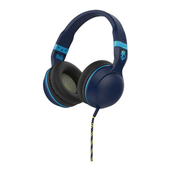 Hesh 2.0 Headphones - Navy, Lime & Blue