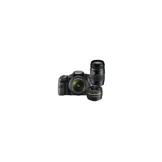 A58 Digital SLT Camera Triple Lens Kit