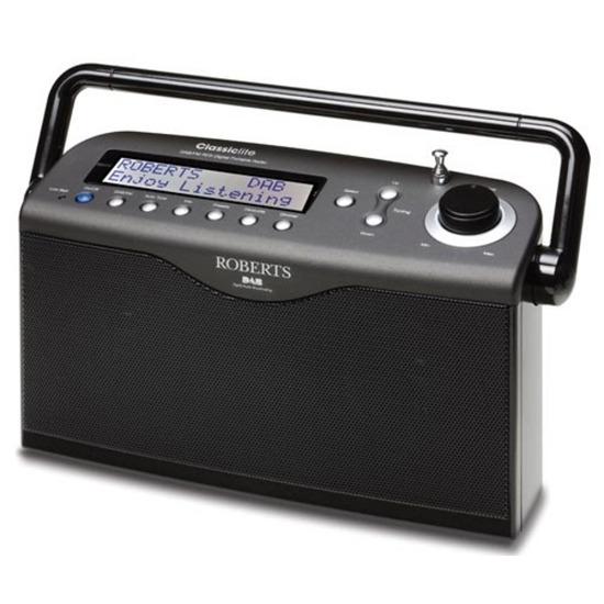 ROBERTS ClassicLite Portable DAB Radio - Black