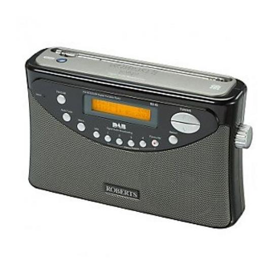 ROBERTS Gemini 45 Portable DAB Radio - Black