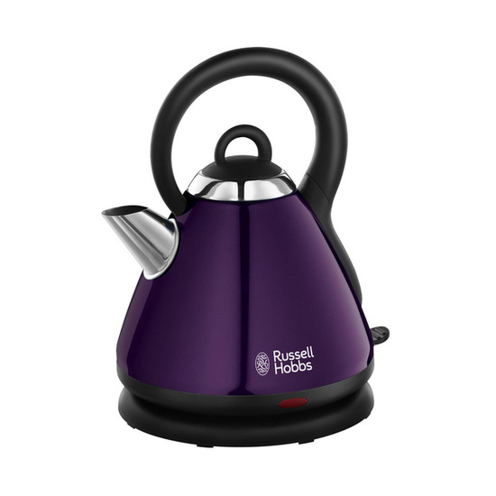 Russell Hobbs Heritage 18440 Traditional Kettle - Purple
