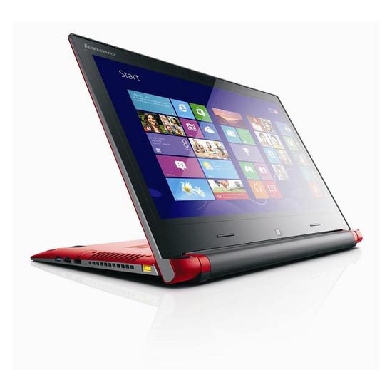 Lenovo Flex 14 Convertible Touchscreen Laptop - Red