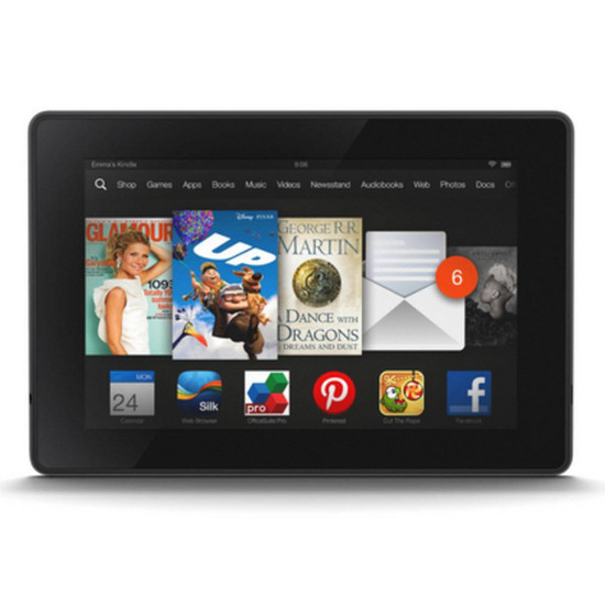 Amazon KINDLE New Fire HD 7Ó Tablet - 16 GB