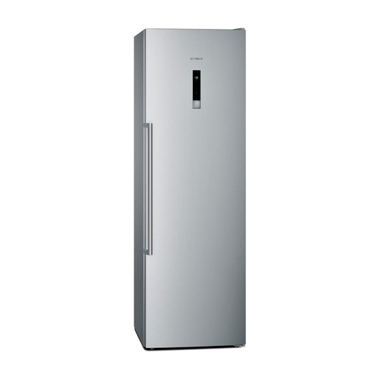 Siemens iQ500 GS36NBI30 Tall Freezer Stainless Steel
