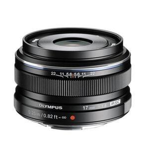 Photo of Olympus m.ZUIKO Digital 17MM F1.8 Lens In Black Lens