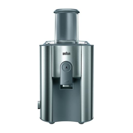 Braun J700 Multiquick 7 Steel & Grey Juicer