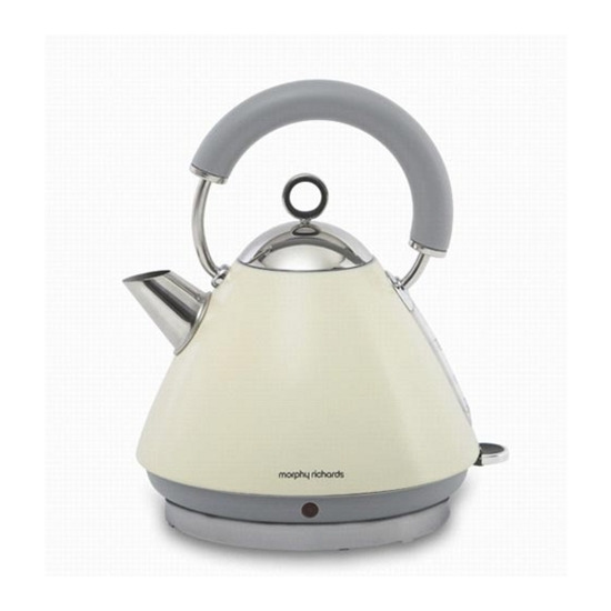 Morphy Richards Accents 43775 Pyramid Traditional Kettle - Cream