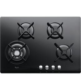 Whirlpool AKT466NB Origami Black Four Burner 60cm Gas-on-glass Hob Reviews