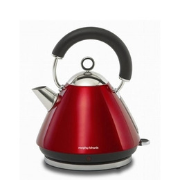 Morphy Richards Accents 43772 Pyramid Traditional Kettle - Red