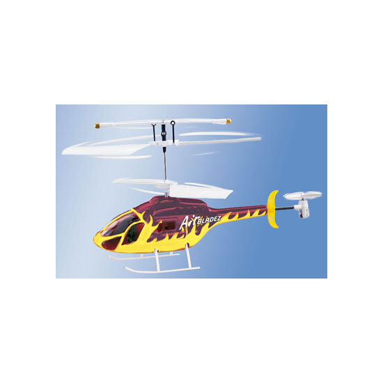 Air Bladez RC 3 Channel Fire Helicopter