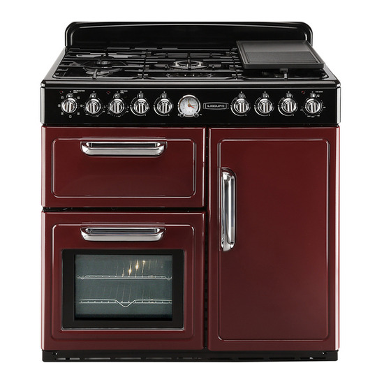 Leisure CMTF99R Dual Fuel Range Cooker - Red
