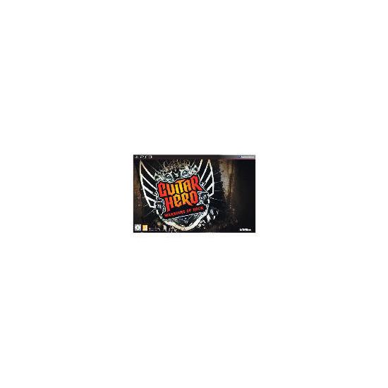 Guitar Hero: Warriors of Rock (Complete Band Kit) - PS3