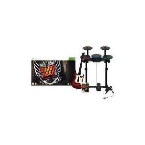 Photo of Guitar Hero: Warriors Of Rock (Complete Band Kit) - XBOX 360 Video Game
