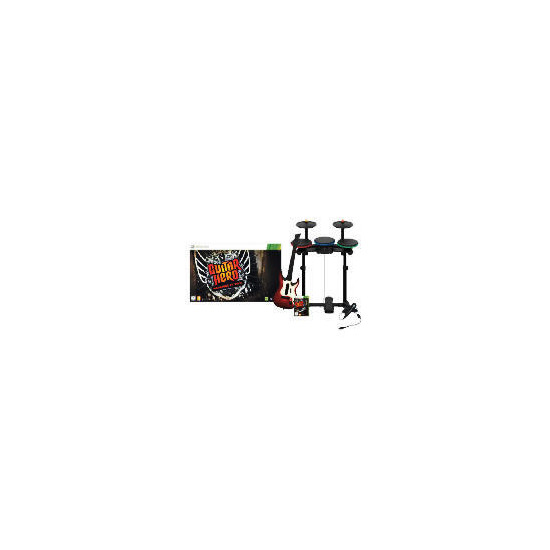 Guitar Hero: Warriors of Rock (Complete Band Kit) - Xbox 360