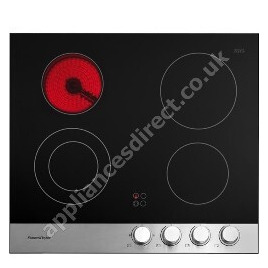 FISHER & PAYKEL CE604CBX1 Classic 600 Ceramic Hob - Black & Stainless Steel Reviews