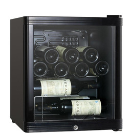 ESSENTIALS CWC15B14 Wine Cooler - Black Reviews