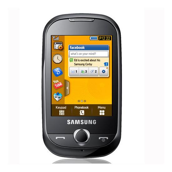 Samsung Genio Touch S3650