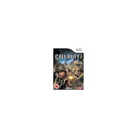 Call Of Duty 3 Nintendo Wii