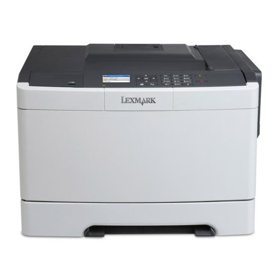 Lexmark CS410DN  colour laser printer