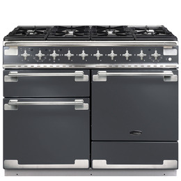 Rangemaster Elise 110 Dual Fuel Range Cooker - Slate & Chrome Reviews